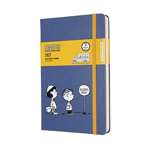 Dove acquistare Moleskine – Agenda Giornaliera 12 Mesi Peanuts, Agenda Giornaliera 2021, Daily Planner in Edizione Limitata, Tema Lucy e Linus, Copertina Rigida, Formato LARGE 13 x 21 cm, 400 Pagine