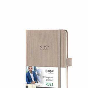 Dove acquistare SIGEL C2161 Agenda settimanale 2021, ca. A6, talpa, copertina rigida, Conceptum