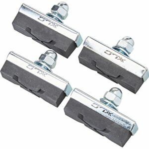XLC Bremsschuhe 4er Set Freno Universal Scarpe BS-C04 Set di 4 40 mm, Nero Unisex Adulto, Standard Offerte e sconti