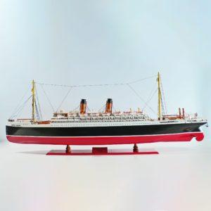Handgefertigtes Schiffsmodell aus Holz der Empress of Ireland (120cm)