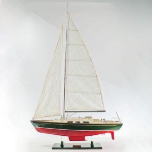 Handgefertigtes Segelschiffmodell der Omega
