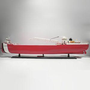 Handgefertigtes Schiffsmodell aus Holz der Arthur M Anderson