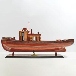 Handgefertigtes Schiffsmodell aus Holz der Rankou Maru