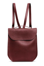 Calla Backpack - Burgundy Red