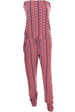 Jumpsuit Missoni Style red