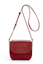Calla Shoulder Bag - Royal  Red