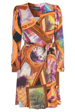 Wrapdress Frames in orange