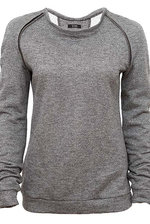 Sweater in grey melange