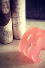 Frosted Cut-out cuff