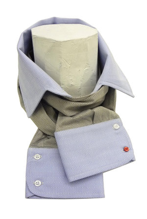 Scarf: TWO SLEEVES & ONE COLLAR