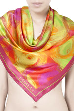 Ripples 100% Silk Scarf