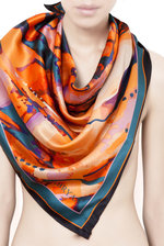 Paint Splash Silk Scarf