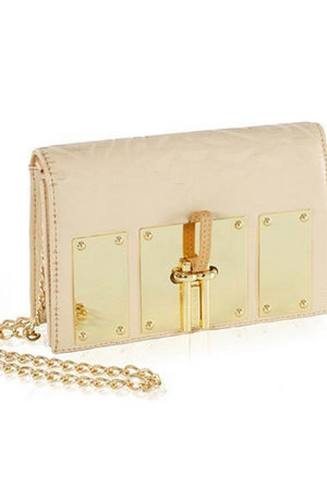 The Uptown Nude Embossed Leather - nelou 934fc0c4b9