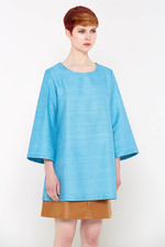 Bahar Tunic Top (Blue)