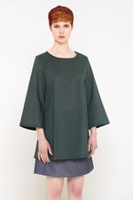 Dona Tunic Top (Dark Green)