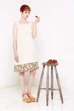 Ester Dress (Light Dots)