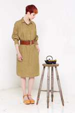 Hettie Shirt Dress (Sand)