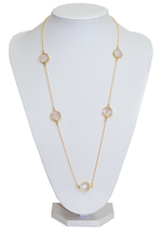 Mayfair Long Gemtones Necklace
