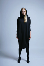 Hoodie Plain Dress