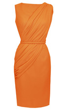 Alexandria Dress in Orange