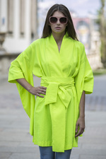 NEO kimono with long sleeves yellow