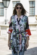#KIMONOLOVERS kimono with open shoulders