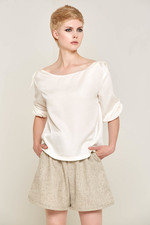 Doralis Wool Shorts (Beige) Made out of Rescue Sheep Wool