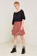 Norma Skirt Fabric Made out of 100% Rescue Sheep Wool