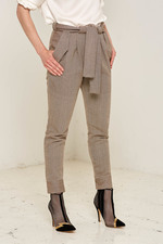 Martha Trousers (Brown) Made out of: 100% Certified Organic Cotton