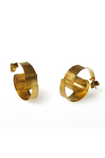 ONDA ear jewellery gold plated