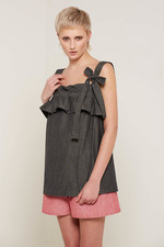 Lilliana Top (Charcoal)