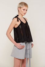 Rafeala Top (Black)