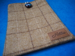 iPad/ tablet case slate oatmeal
