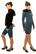 4inONE ORIGINAL PULLOVER DRESS BLUE