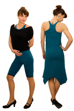 4inONE YOGA DRESS SCHIRT PETROL