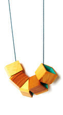 Necklace Cubi Yew