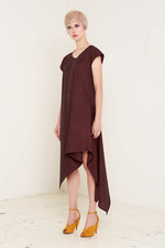 Heather Dress Burgundy