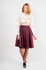 Striped skirt VIOLET