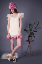 Dress with frill BABY