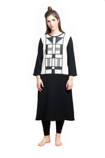Tunika/Kleid : ART DECO