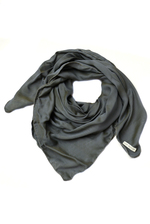 Scarf grey/blue