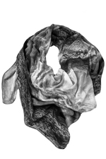 Silk Scarf Ice-Crystal