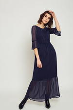 DRESS CHIARA NAVY