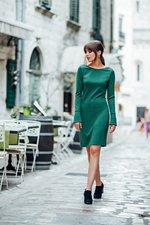 DRESS SALLA GREEN