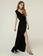 GRETA DRESS - BLACK