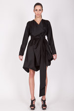Longsleeve jacquard dress