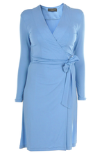 Wrapdress blue