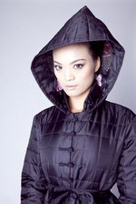 Winter Jacket Black Geisha