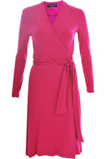Wrapdress pink