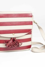 Red Striped Shoulder Bag